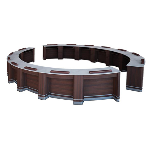 Oval Low Bar Table   High Quality Pedicure Spa, Manicure Salon Furniture