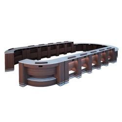 Set High - Low Bar Table 3