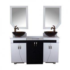 Shaker Double Sink