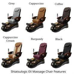 Siena Pedicure Spa Chairs Full Ex