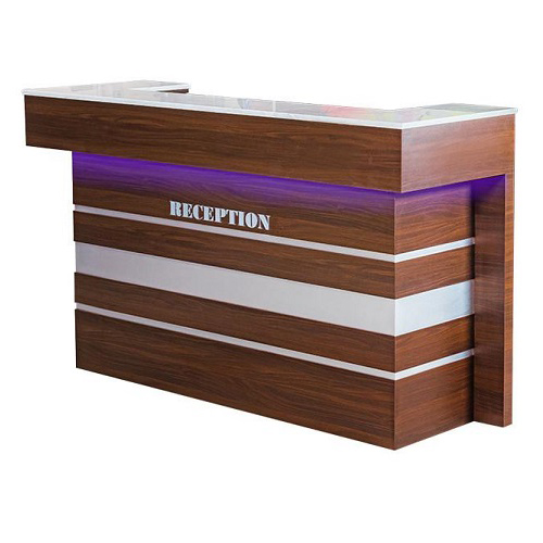 U Reception W LED Light