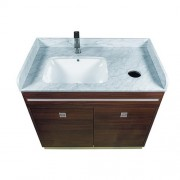 ''U'' Single Sink With Faucet 22