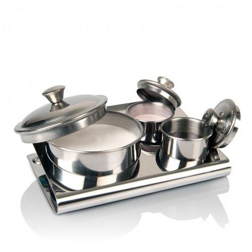 Stainless Steel Jar Set