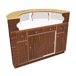 Avon II Round Reception Desk