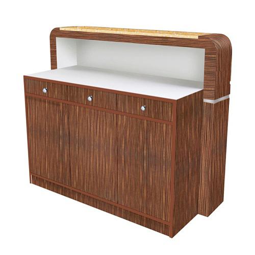 Avon II Square Reception Desk