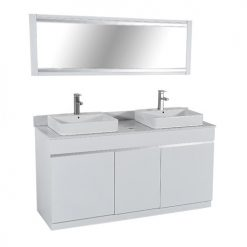 Orchid Double Sink (W/Faucets)