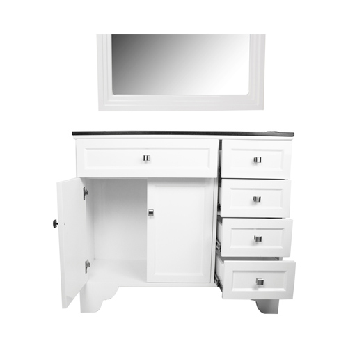 Maybelle Traditional Vanity Styleing Station With Mirror