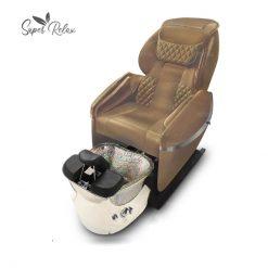 Super Relax Spa Pedicure Chair Cappucino