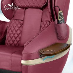 Super Relax Spa Pedicure Chair Red
