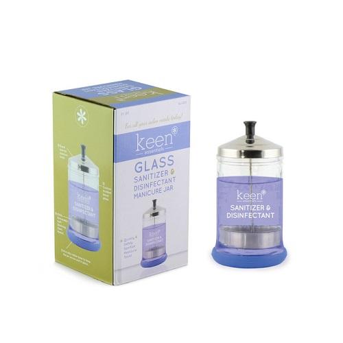Keen Essentials Heavy Duty Sanitizer & Disinfectant Jar 21oz