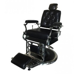 Wellington Genuine Leather Barber Chair - 1