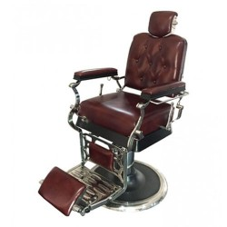 Wellington Genuine Leather Barber Chair - 6
