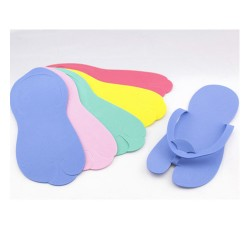 Disposable Pedicure Foam Slippers (Hooking) - 01
