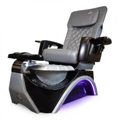 Dover 3D Silver Pedicure Spa Chair