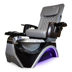Dover 3D Silver Pedicure Spa Chair - 2