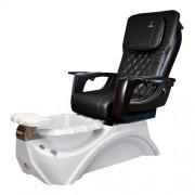 Dover 3D Snow White Pedicure Spa Chair - 1