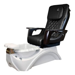 Dover 3D Snow White Pedicure Spa Chair - 1