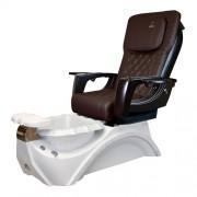 Dover 3D Snow White Pedicure Spa Chair - 3