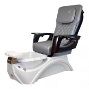 Dover 3D Snow White Pedicure Spa Chair - 4
