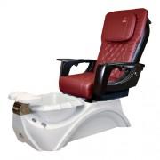 Dover 3D Snow White Pedicure Spa Chair - 5