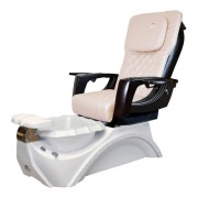 Dover 3D Snow White Pedicure Spa Chair - 6