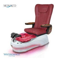 Monaco Spa Pedicure Chair Mahogany