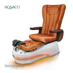 Monaco Spa Pedicure Chair Orange