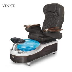 Venice Spa Pedicure Chair Black