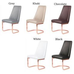 8109rg Rose Gold Customer Chairs Diamond Full Color