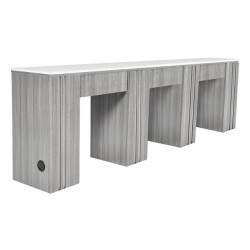 NM906T Triple Nail Table - 03
