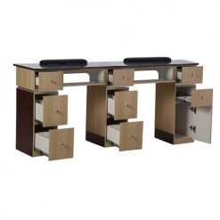 Nail Table T 06 G Double (Ash / Rosewood)