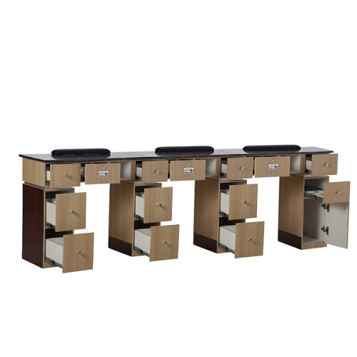 Nail Table T 06 Triple (Ash / Rosewood)