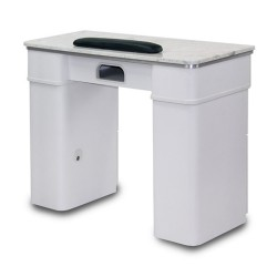 White Sonoma Manicure Table - a3