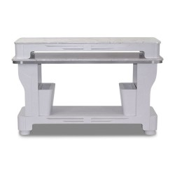 White Sonoma Nail Dryer Table - a1