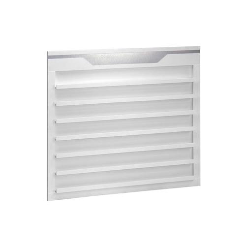 White Sonoma Single Shelf Polish Rack