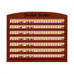 CD Nail Polish Rack