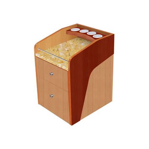 Luxury Pedi Cart – Yellow Marble
