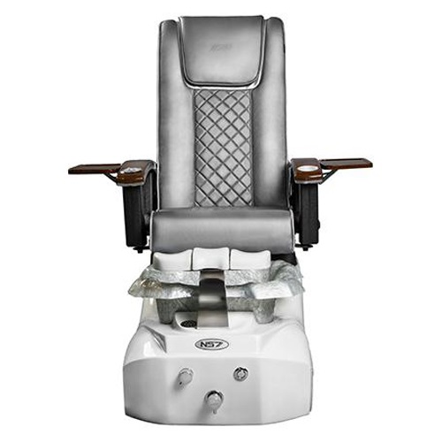 NS7 Pedicure Chair – Silver