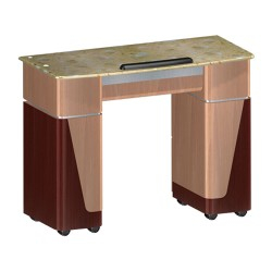 Nail Table T06 - Yellow Marble - 1a