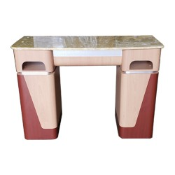 Nail Table T06G - Yellow Marble - 3a