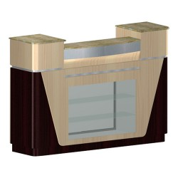 Reception Counter C-06 – Yellow Marble - 2a