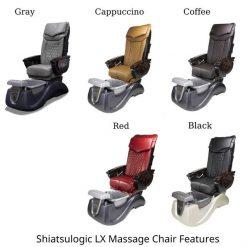 Serenity Ii Pedicure Spa Chair Full Lx