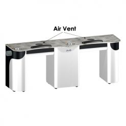 Custom Made Nail Table Double T108 with Vent