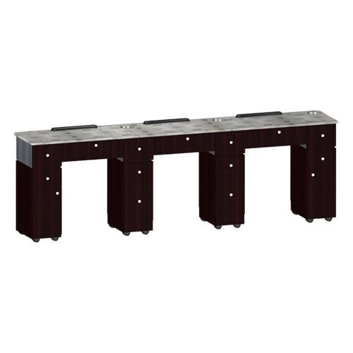 Custom Made Nail Table T06 Triple