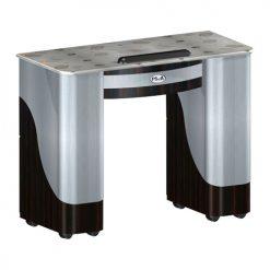 Custom Made Nail Table T105 – Cherry Aluminum