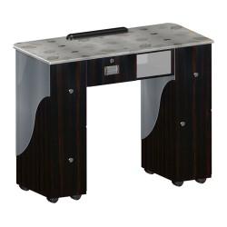 Custom Made Nail Table T105 - Cherry Aluminum - 2