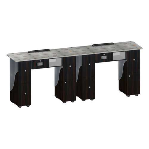Custom Made Nail Table T105 Double