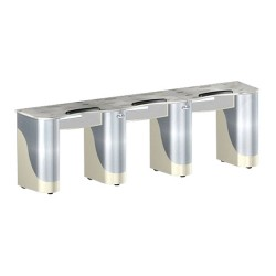Custom Made Nail Table T105 Triple - 1