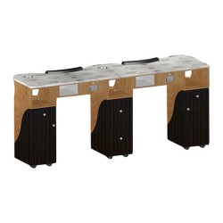 Custom Made Nail Table T105G Double - 2