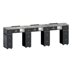 Custom Made Nail Table T39 Triple - 2